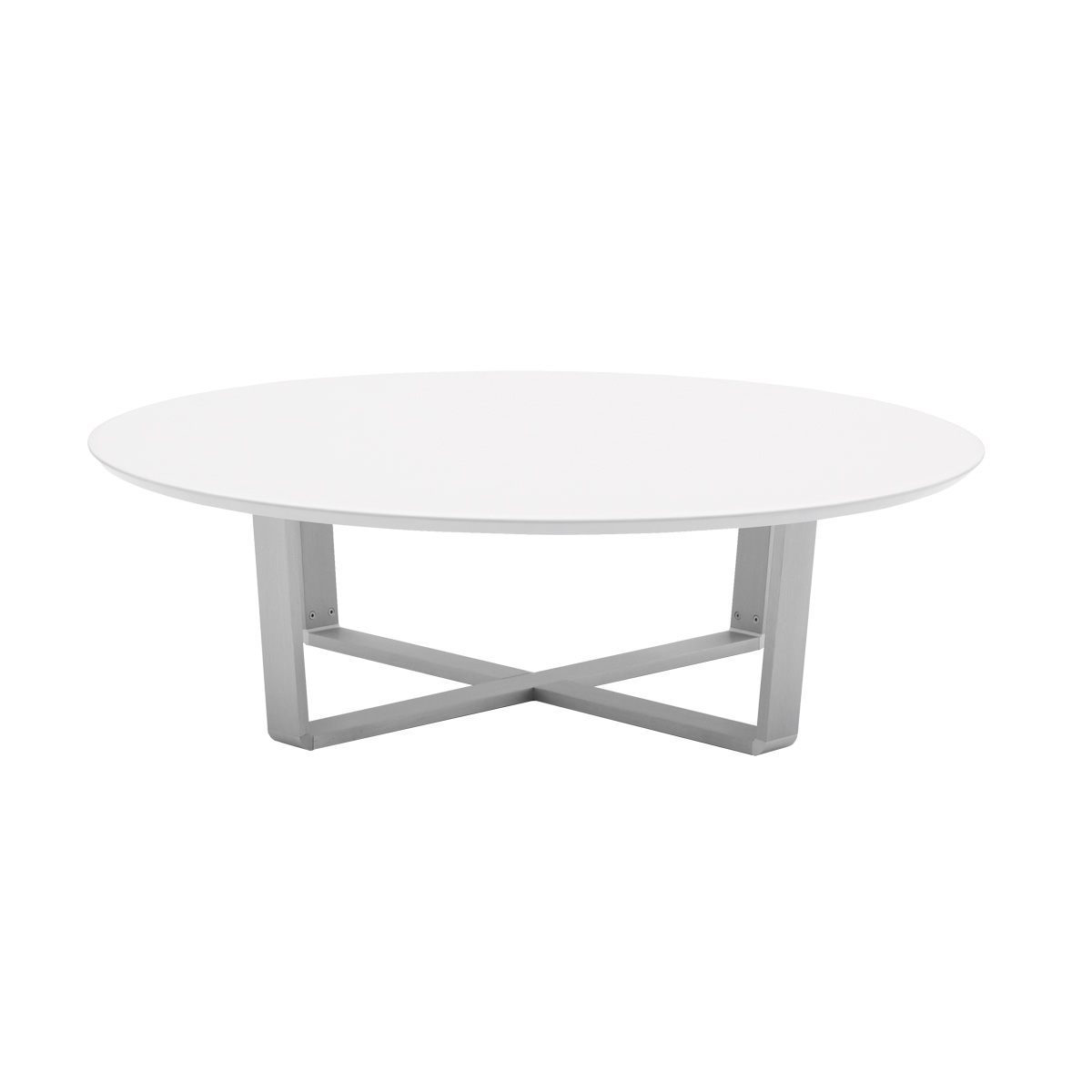 Cintura round coffee table beyond furniture What to put on a round coffee table