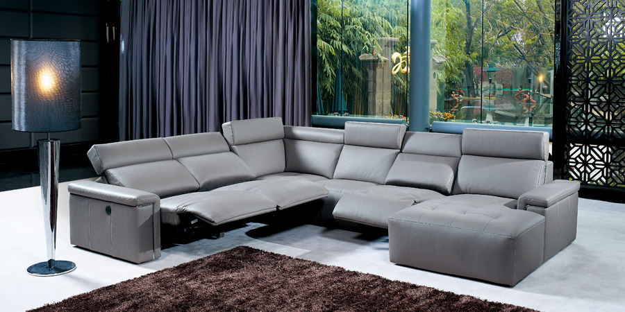 Modern Sofas Leather Lounges