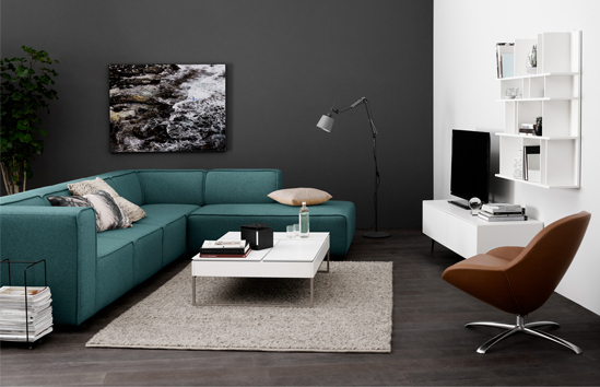 the carmo sofa by boconcept. Black Bedroom Furniture Sets. Home Design Ideas