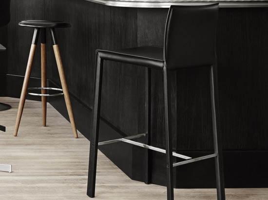 Zarra designer bar stool