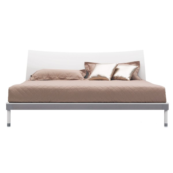 WAVE MODERN WHITE BED FRAME
