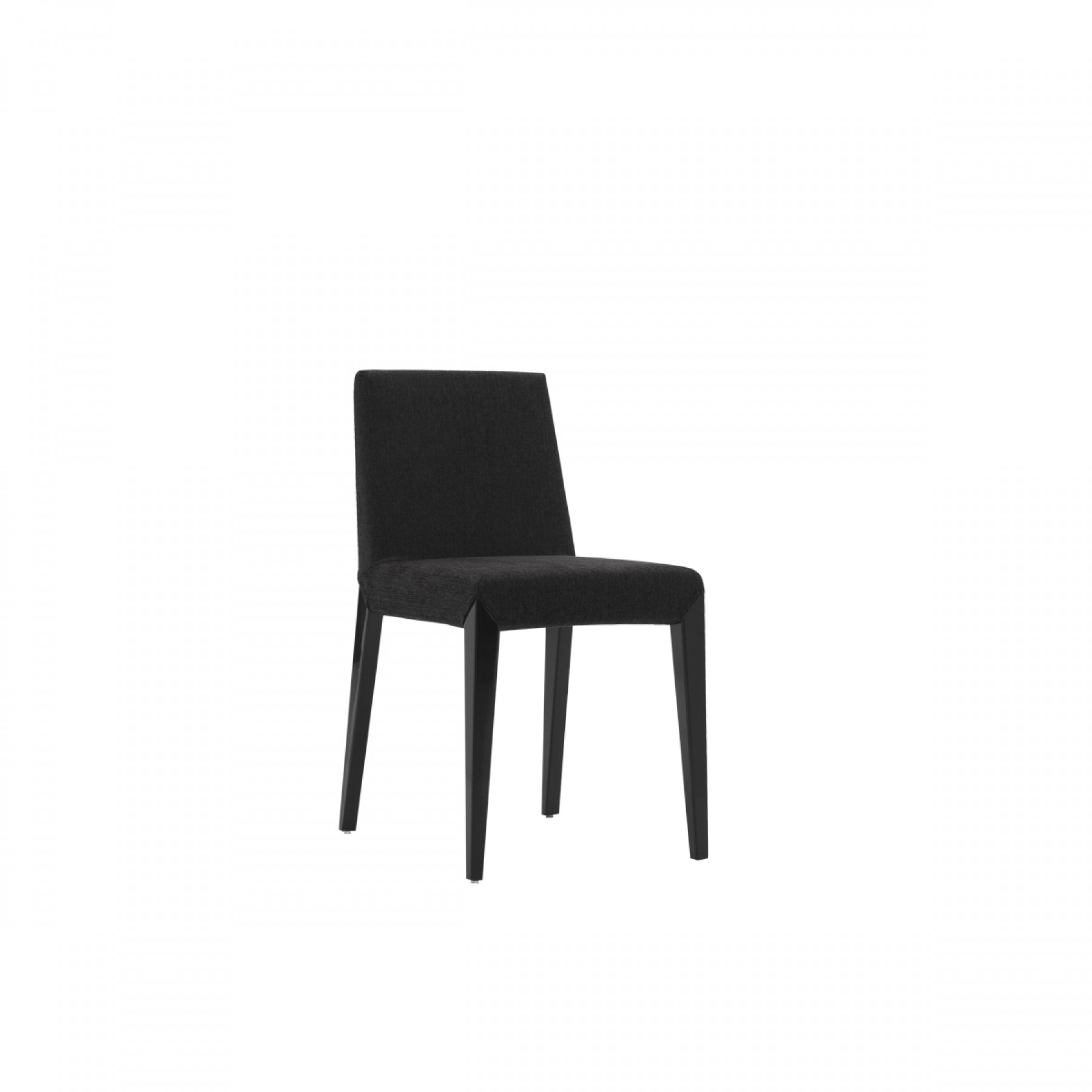 Ali upholstered dining chair beyond furniture for Black fabric dining room chairs