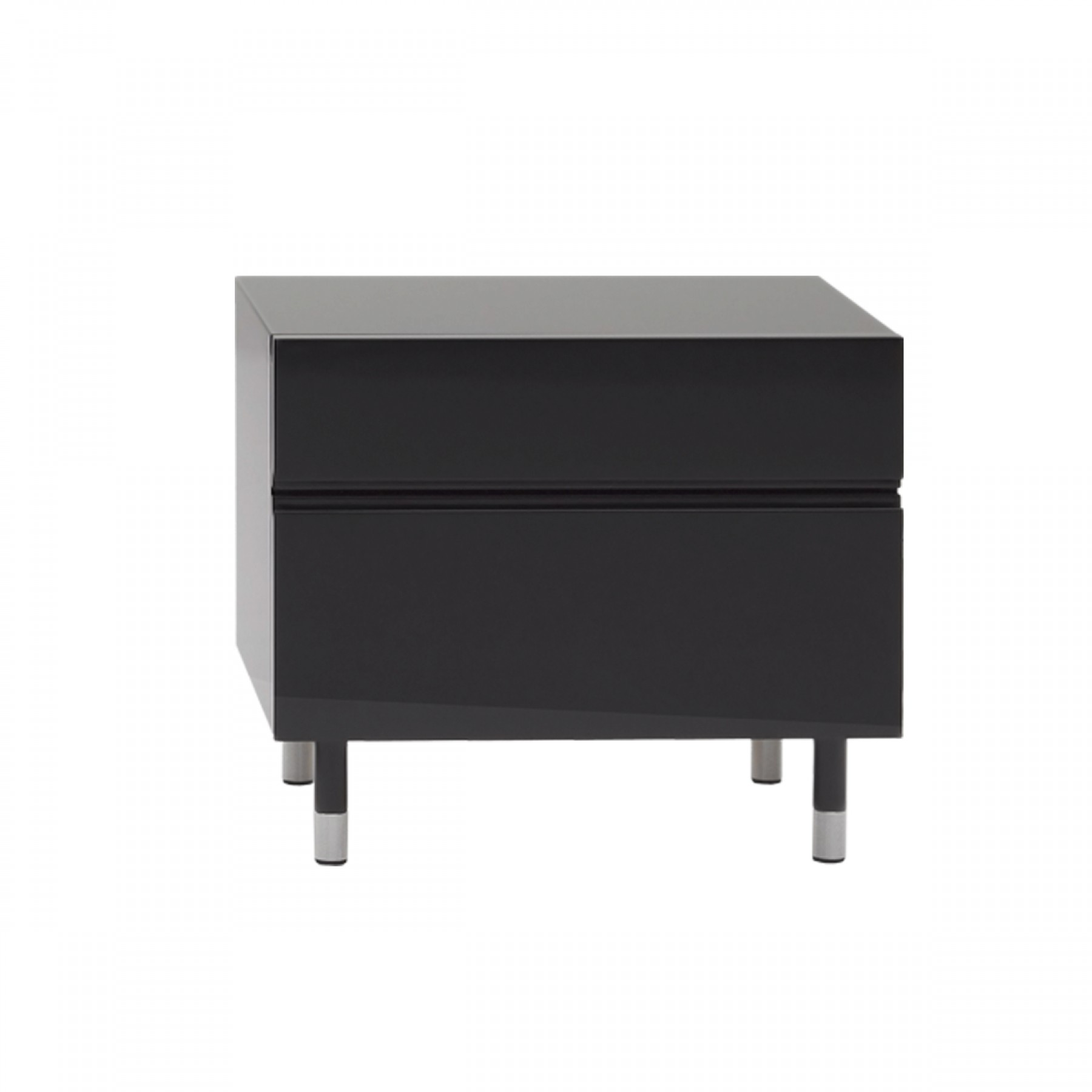 Picture of: Blocco Small Bedside Dark Grey Beyond Furniture
