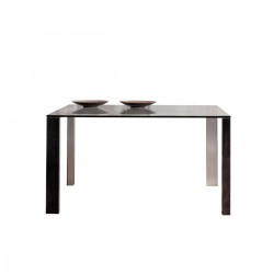 classica-clear-glass-square-dining-table