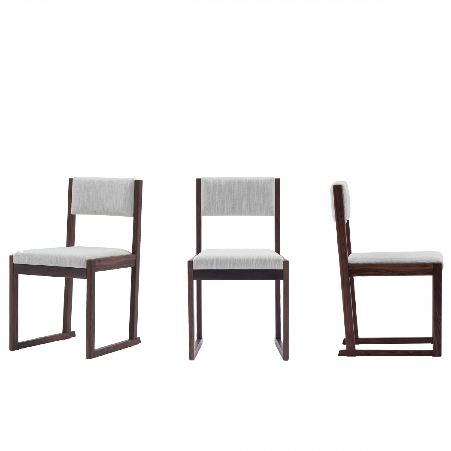 KELL DINING CHAIR WALNUT Beyond Furniture