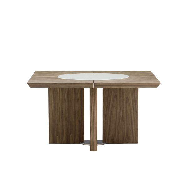midollo-walnut-square-dining-table-lazy-susan