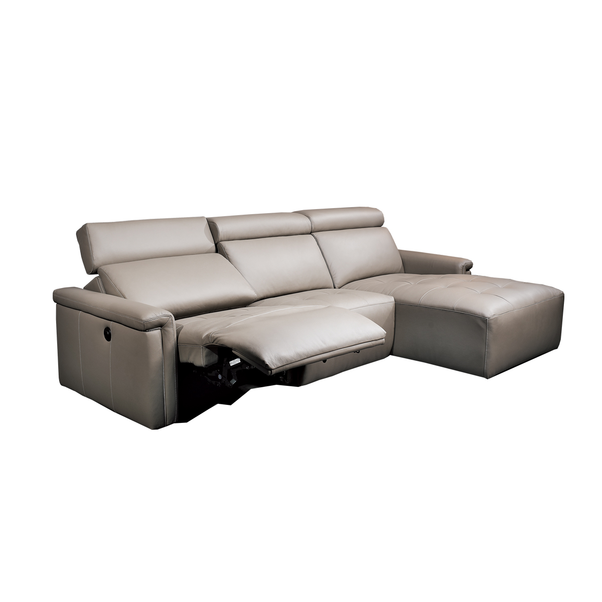 CASALE CHAISE WITH RECLINER Beyond Furniture