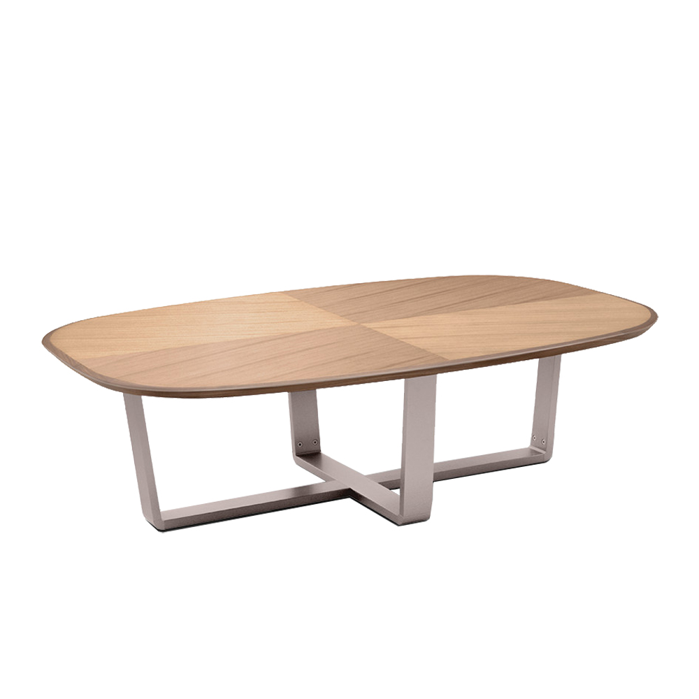 Cintura Rectangle Walnut Coffee Table Beyond Furniture
