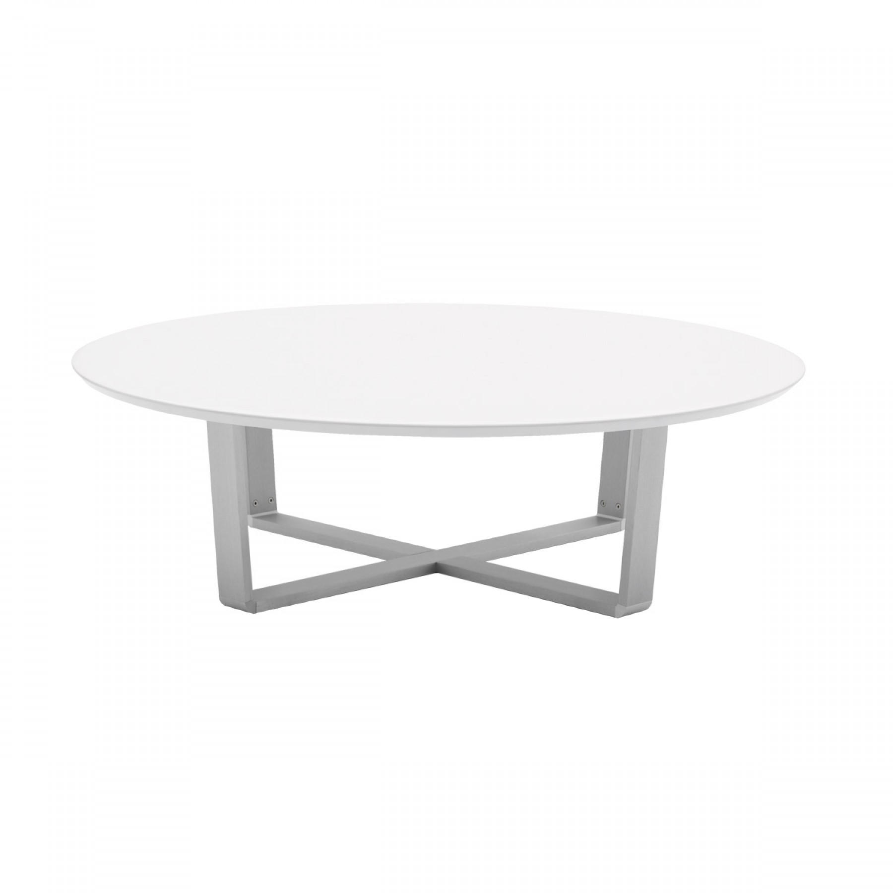 White Gloss Coffee Table Round Round Designs