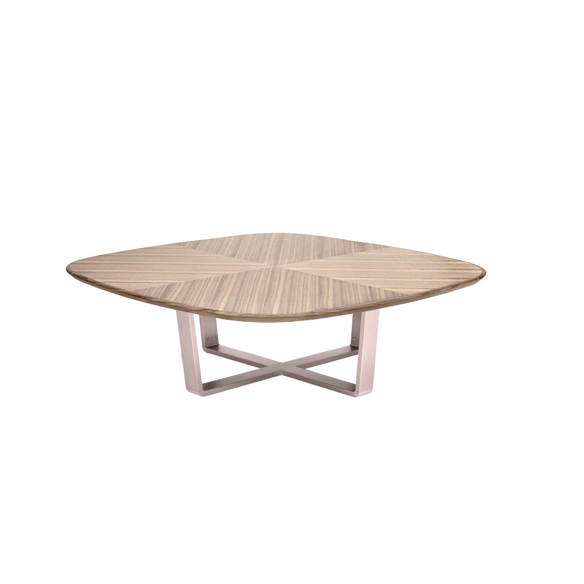 CINTURA SQUARE WALNUT COFFEE TABLE Beyond Furniture
