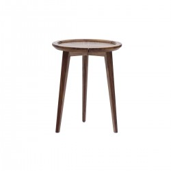 PICCOLO-ROUND-SIDE-TABLE-WALNUT-TIMBER