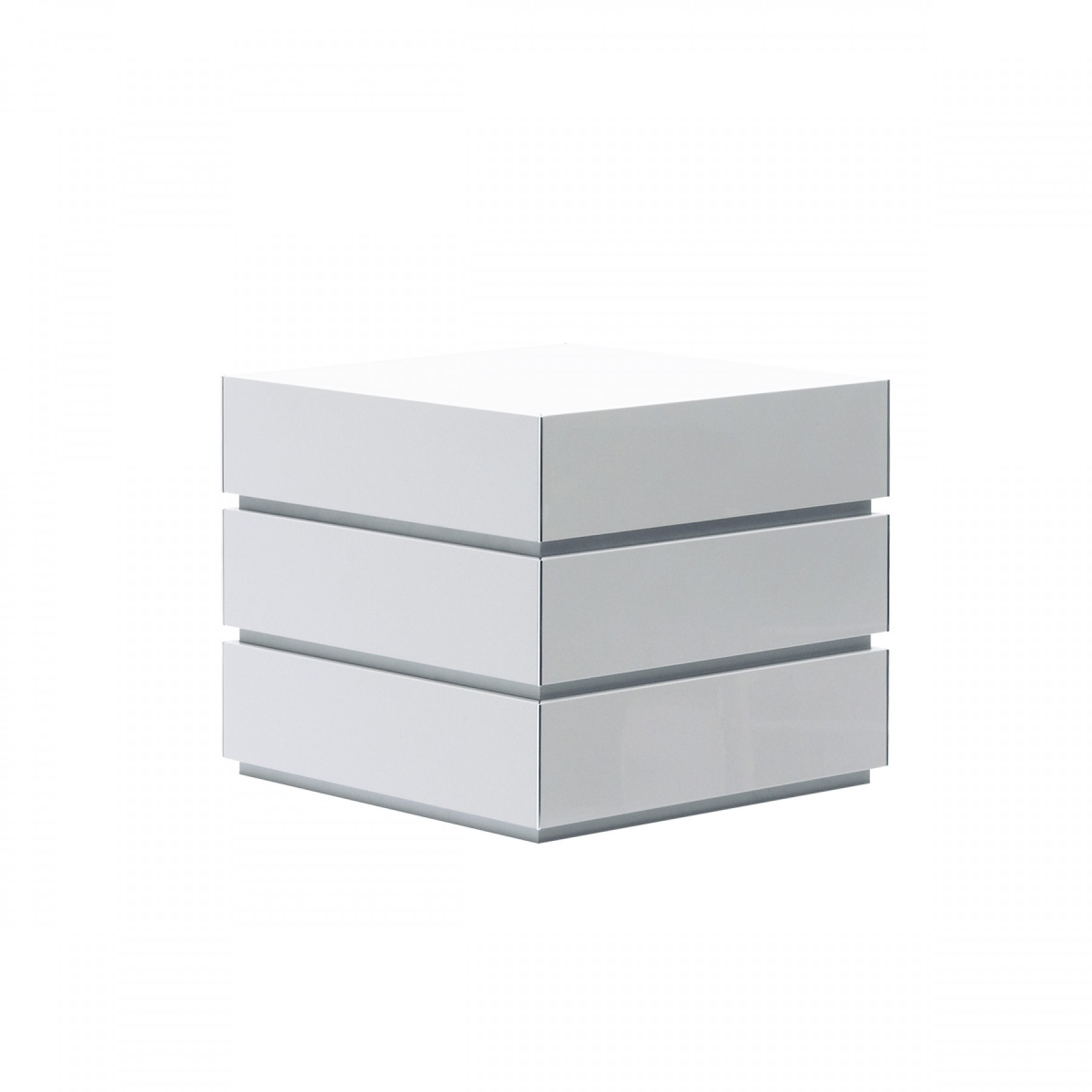 White Side Tables punto stacking side table - beyond furniture