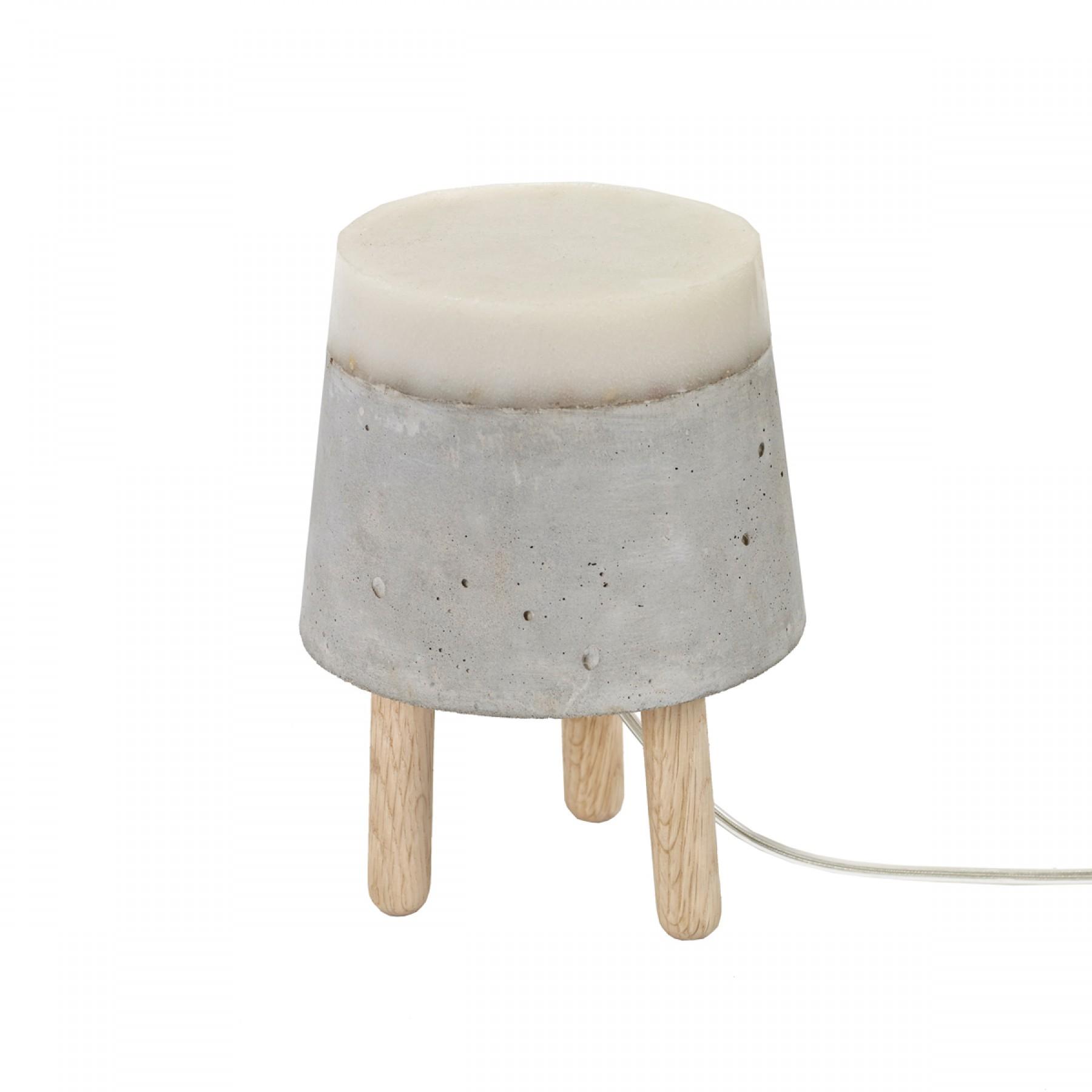 Beton Small Concrete Table Lamp Beyond Furniture
