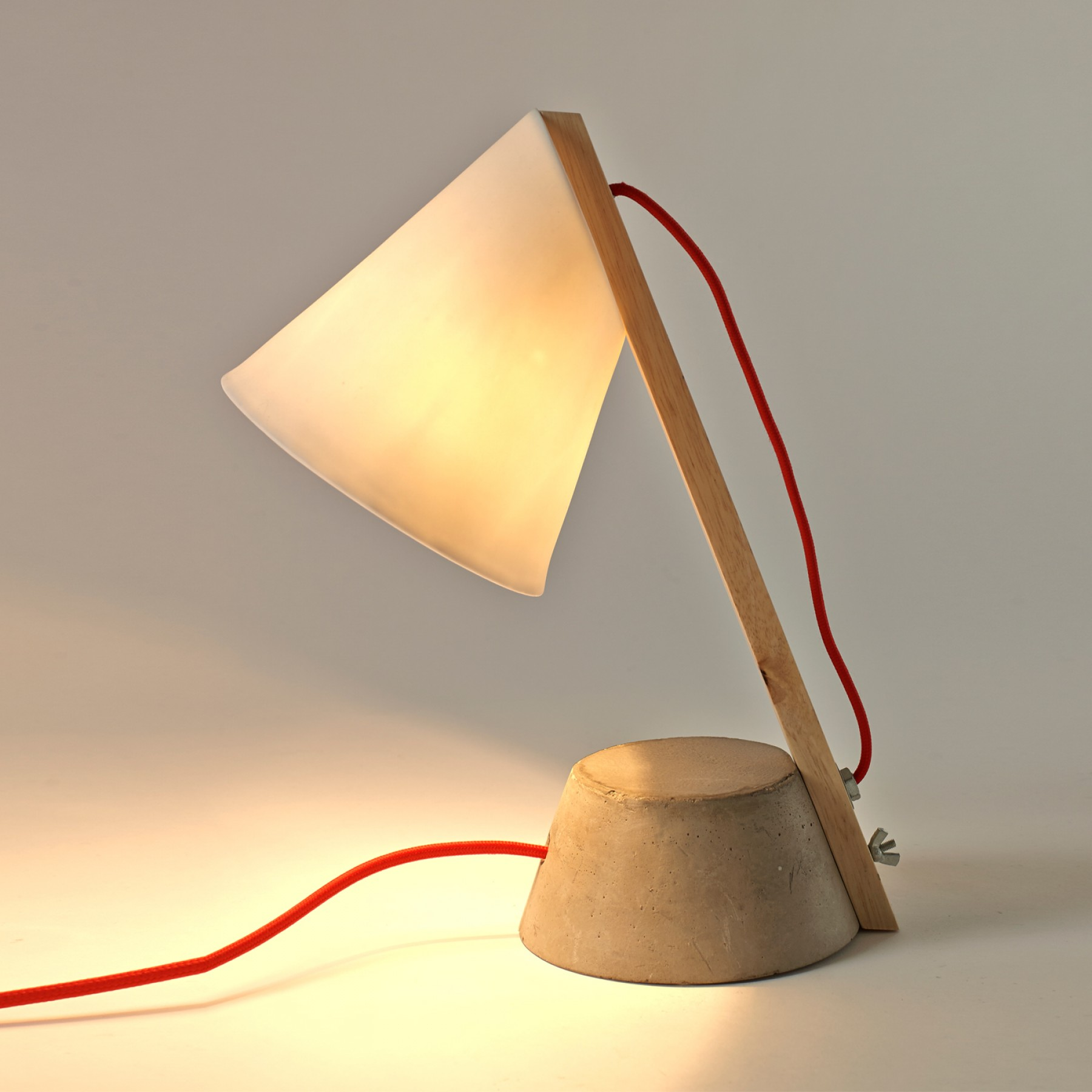 Lamp On Concrete By Catherine Lovatt Beyond Furniture