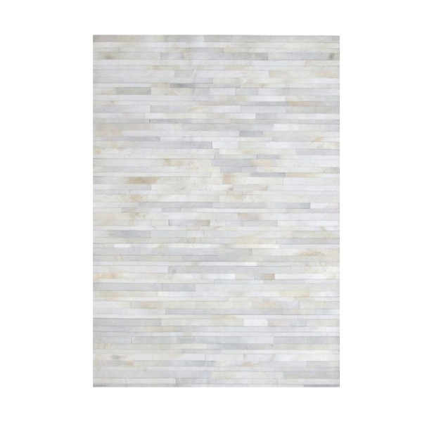 RUG-COWHIDE-LEATHER-WHITE