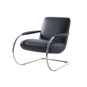 JINGLE-BLACK-LEATHER-ARMCHAIR