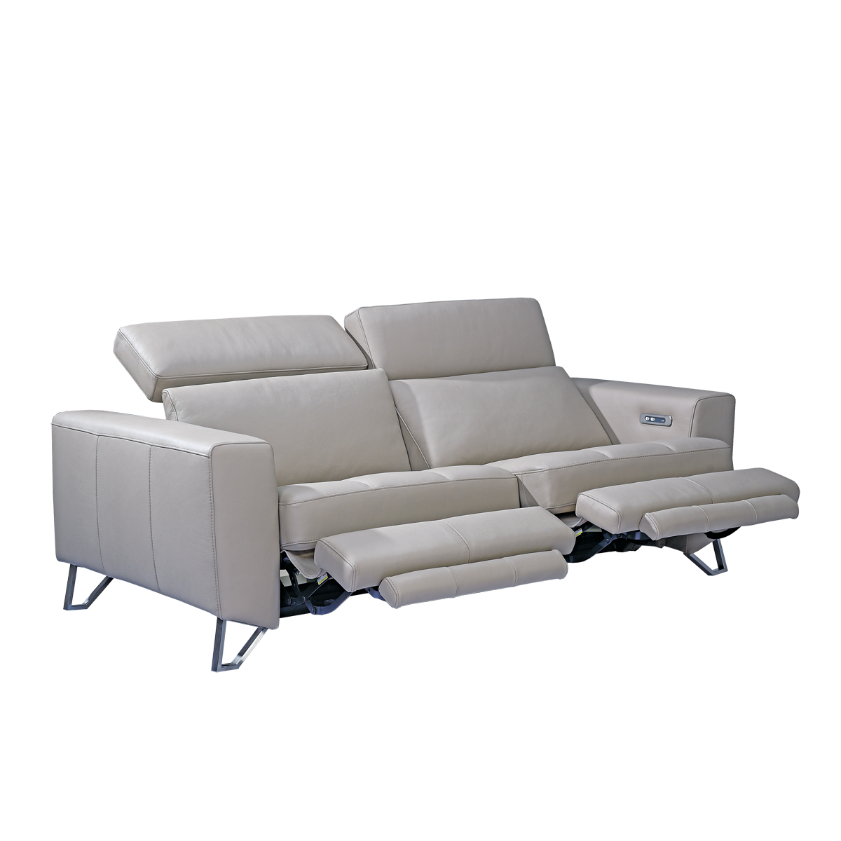 Aperto 3 seater recliner sofa beyond furniture for Leather sofa deals