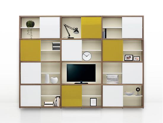 walnut bronte bookcase