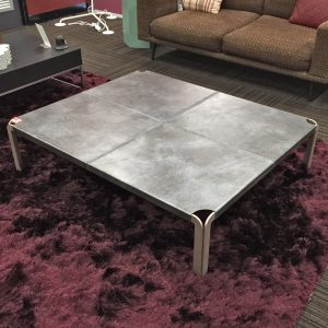 Ex-Display Cruz Leather Coffee Table