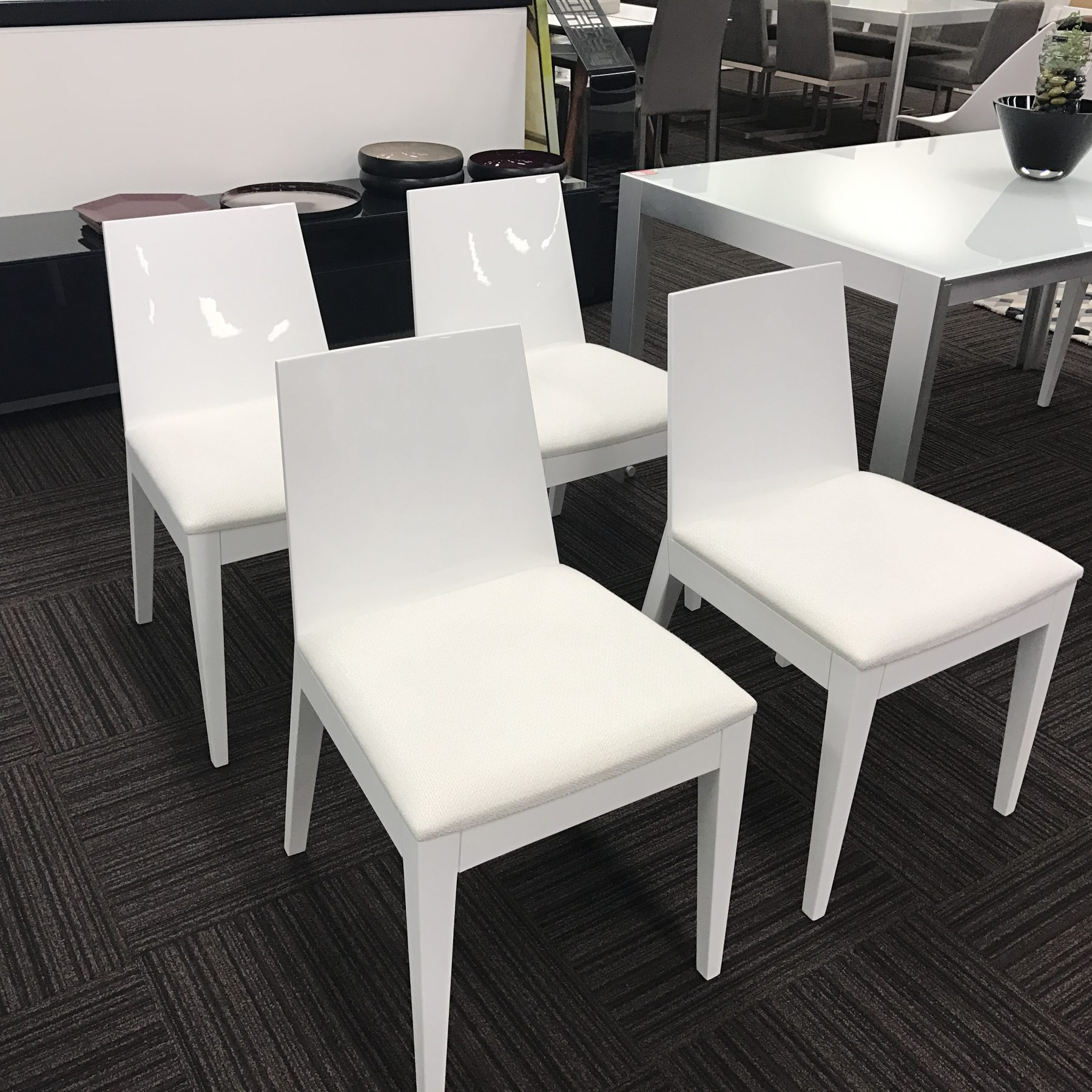 Dining Chairs Clearance: Warehouse Clearance- Ava Dining Chairs SET OF 4