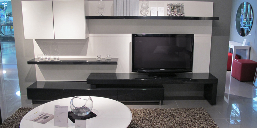 modern wall units - Beyond Furniture Sydney