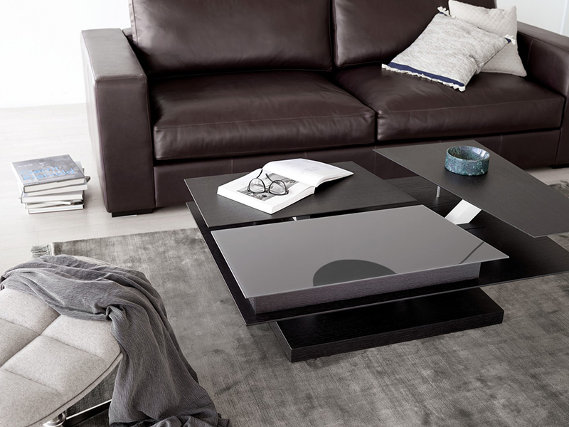 Barcelona - modern black coffee table Sydney