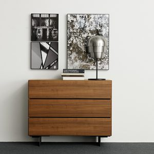 Modern-walnut-chest-of-drawers