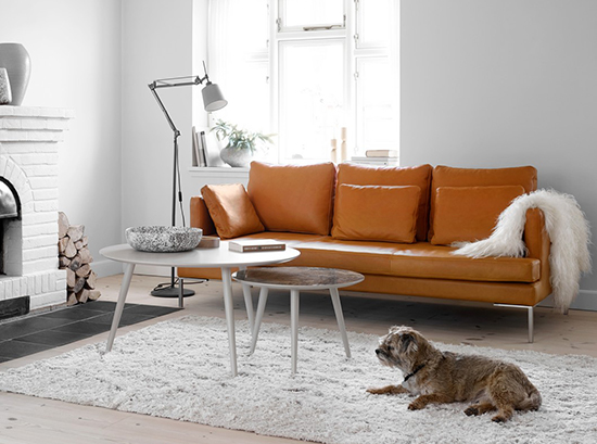 Istra Leather Sofa Sydney