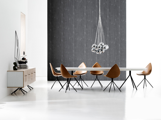 Ottawa modern dining table by BoConcept