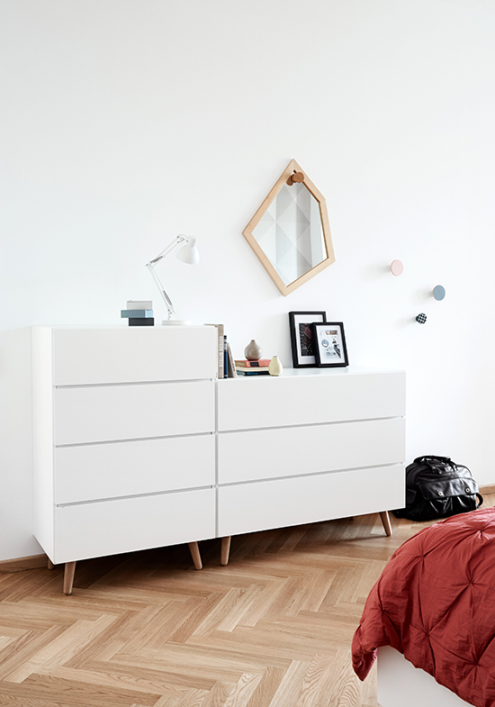 Lugano modern chest of drawers by BoConcept