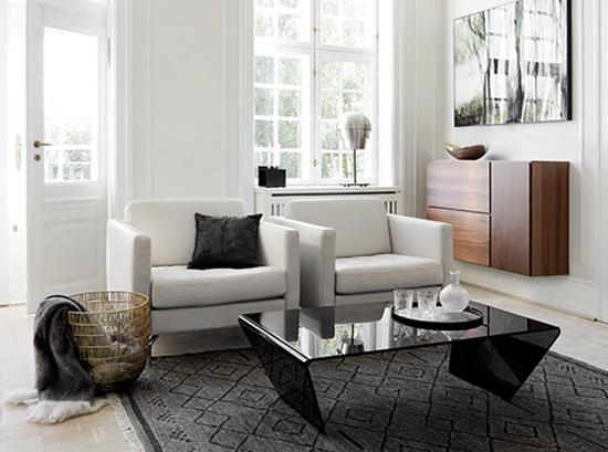 Osaka White Armchair
