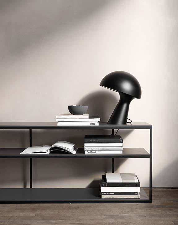 Bordeaux modern console table