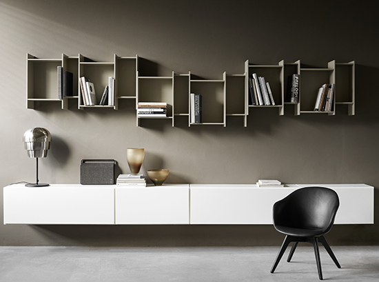 Como Hanging Bookcase