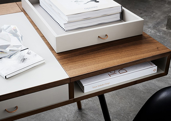 Cupertino executive desk by BoConcept