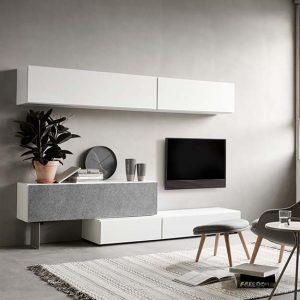 Lugano floating TV unit