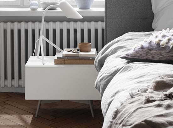 Lugano Bedside Table