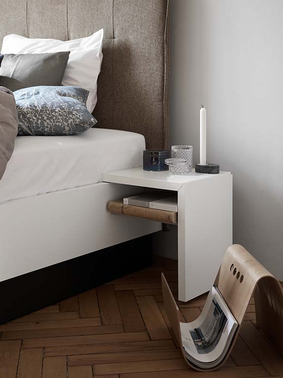 Lugano modern bedside table