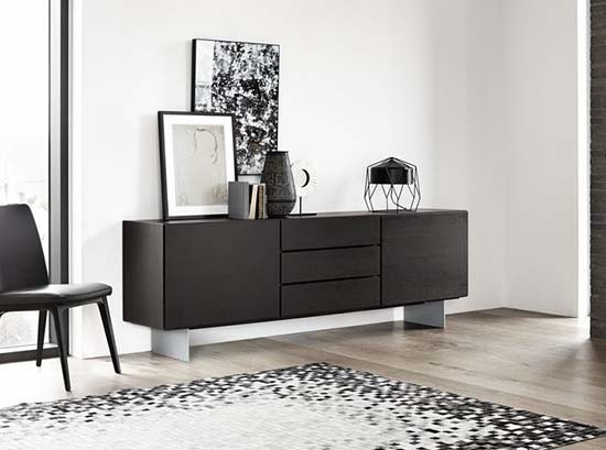 sideboards modern buffets display cabinets beyond furniture. Black Bedroom Furniture Sets. Home Design Ideas
