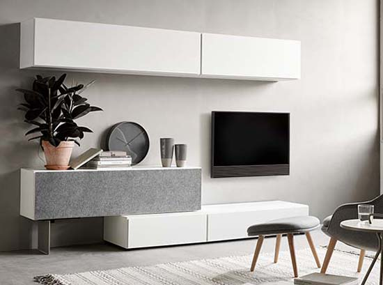 Lugano floating TV unit