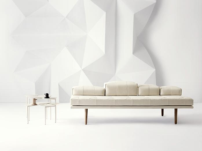 Fusion white designer daybed