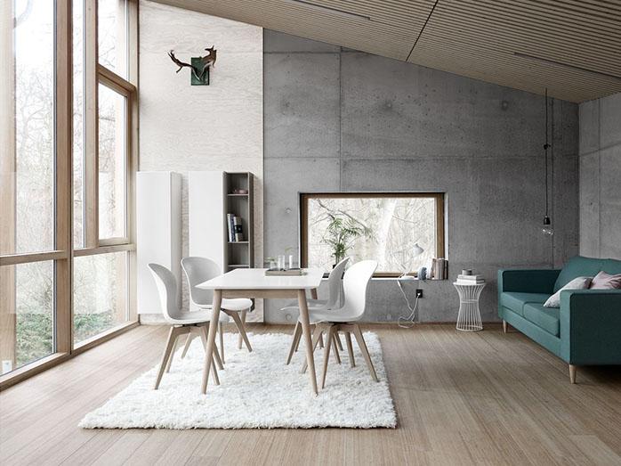 Milano Scandinavian Dining Table