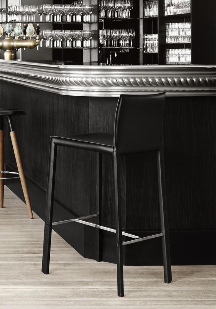 zarra barstool by boconcept. Black Bedroom Furniture Sets. Home Design Ideas