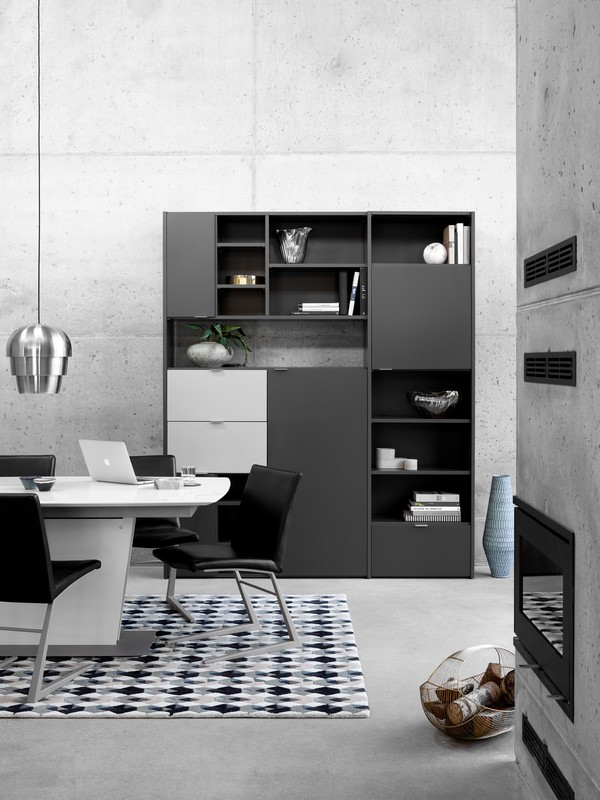 copenhagen wall unit by boconcept. Black Bedroom Furniture Sets. Home Design Ideas