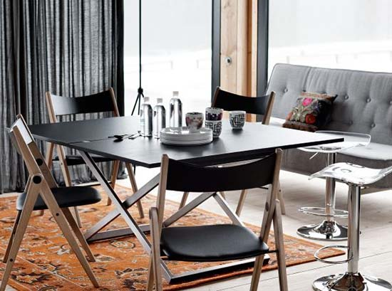 Oslo Black Dining Chairs Sydney