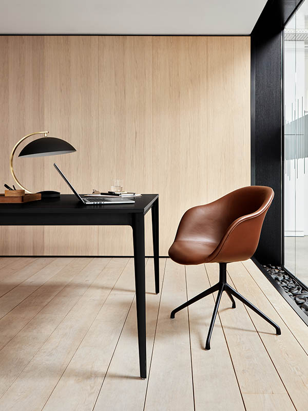 Torino black designer conference table