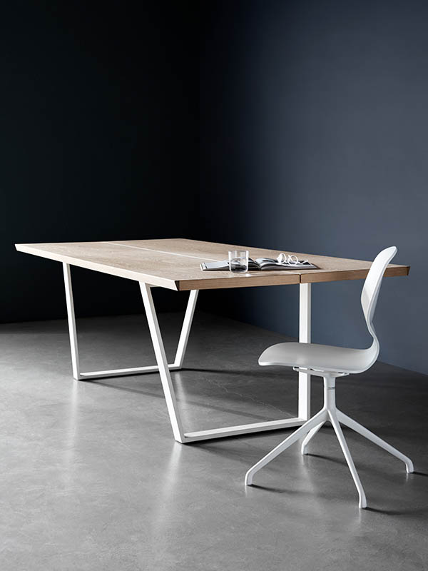 Vancouver designer rectangle dining table