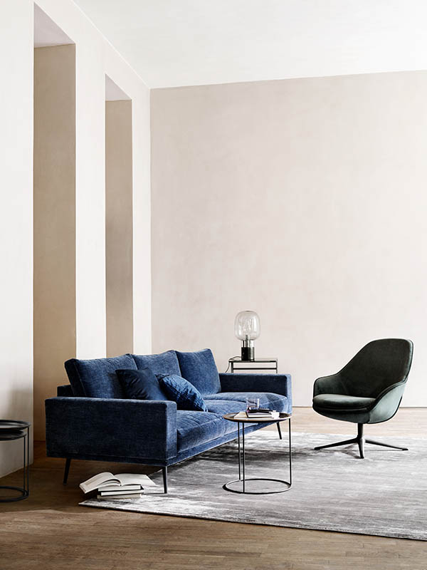 Adelaide modern fabric living chair Sydney