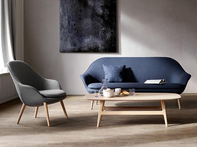 Adelaide Danish designer coffee table