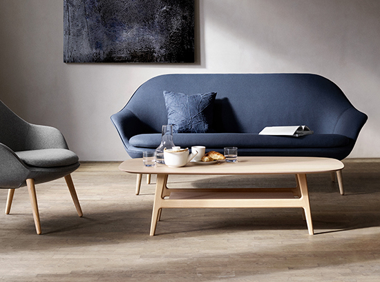 Adelaide Wooden Coffee Table By Boconcept