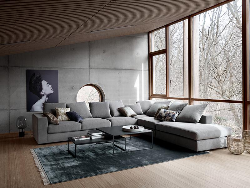 Cenova modern grey lounge suite Sydney